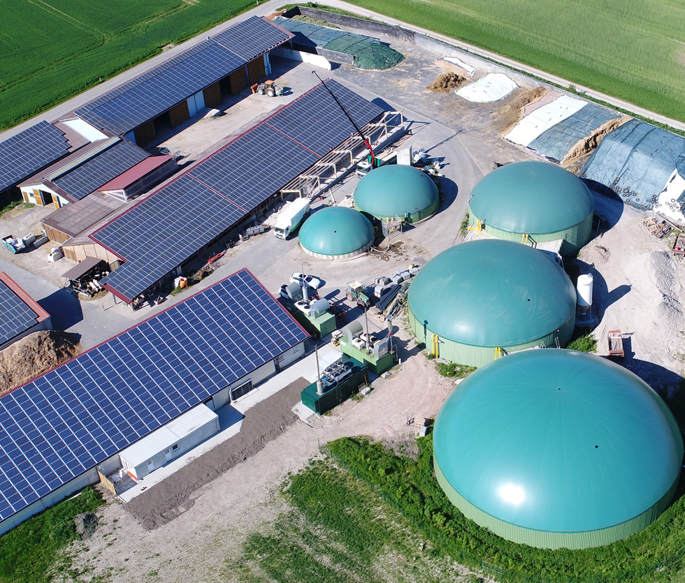 Firmengruppe Armin NÜrnberger: Biogasvertrieb Nord Armin Nürnberger und Sigfried Auer