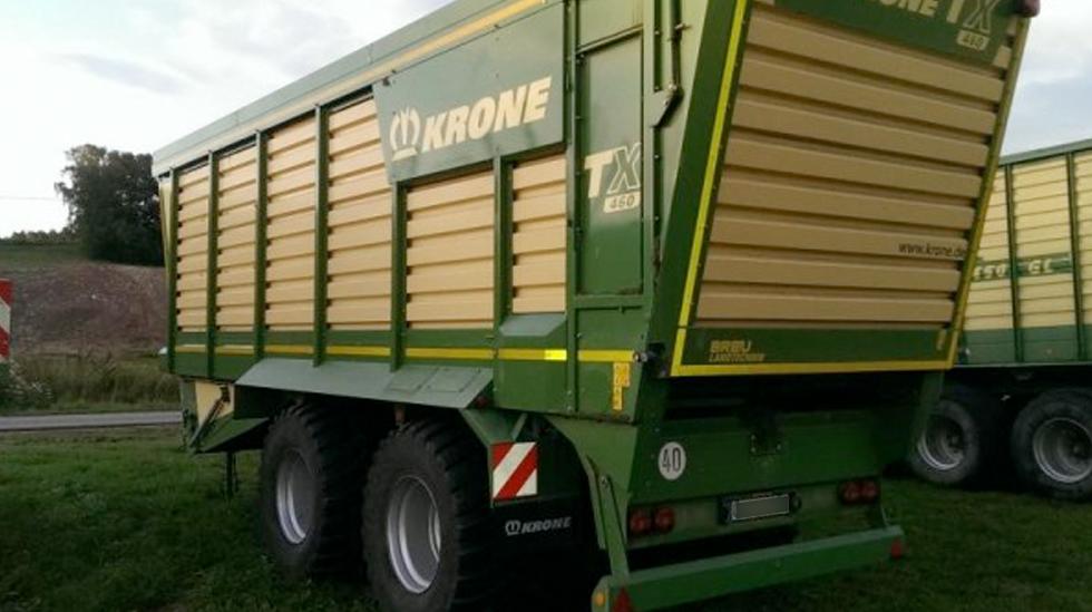Häckseltransportwagen KRONE TX460