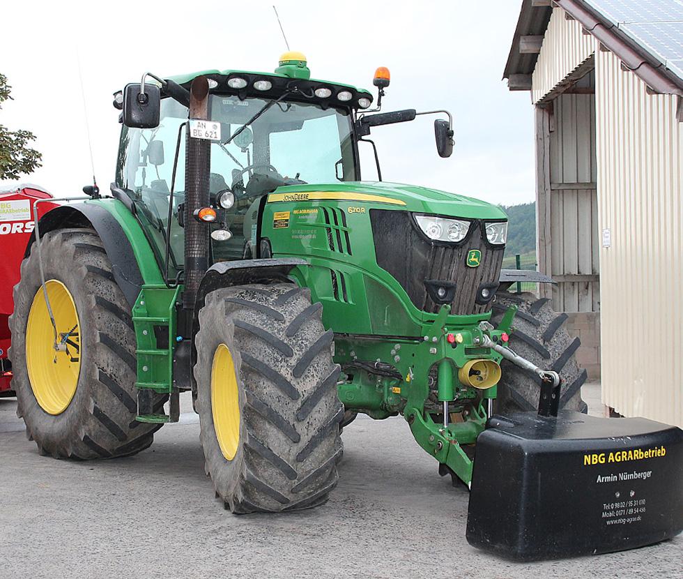 Firmengruppe Armin Nürnberger: Landmaschinen und Dienstleistungen