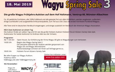 Wagyu Spring Sale 2019