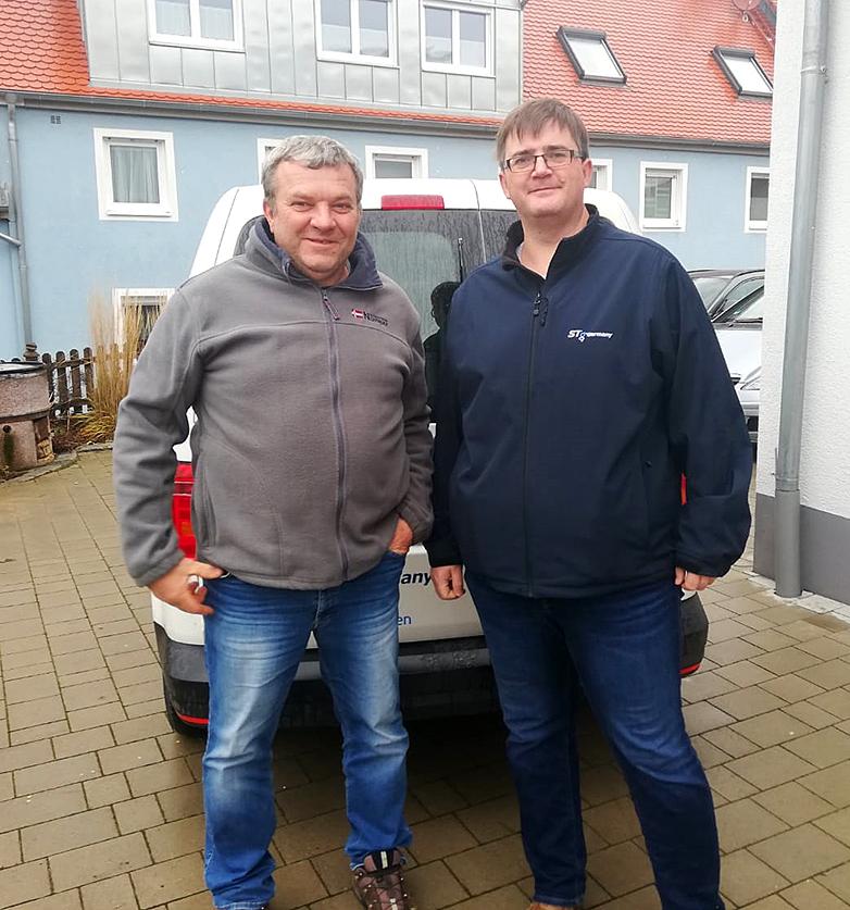 Werner Mantel (links) und Stefan Oberhauser (rechts)