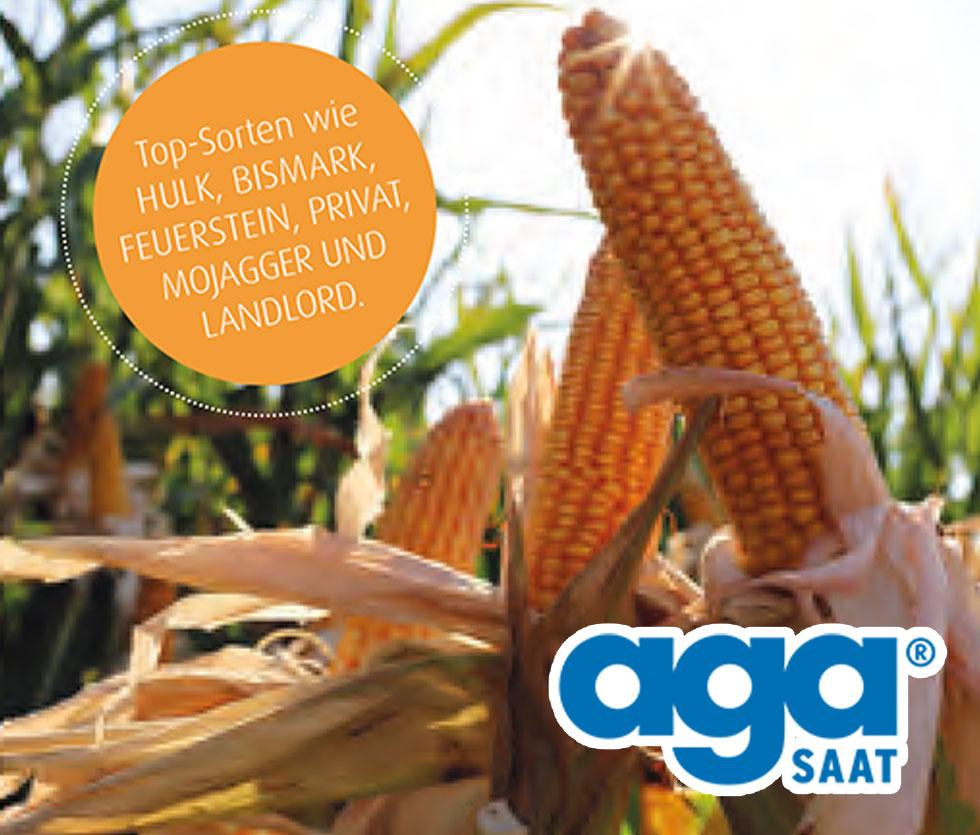 Vertrieb von Maissaatgut der Firma agaSAAT