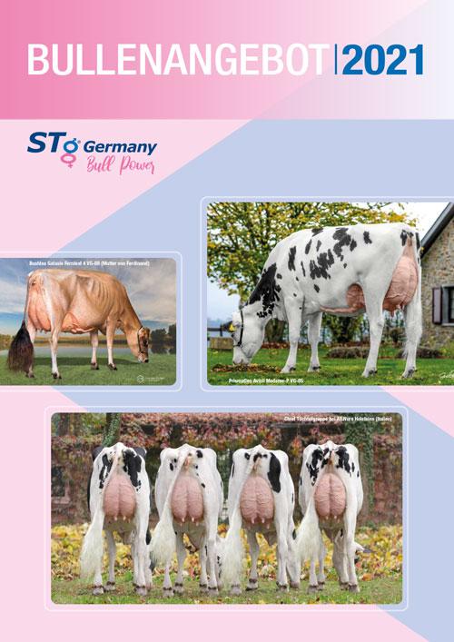 Titelbild Bullenkatalog Stg Germany und prismagen 2021
